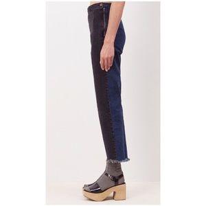 Rachel comey two tone fletcher jeans size 8